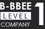 B-BBEE LEVEL 1 COMPANY